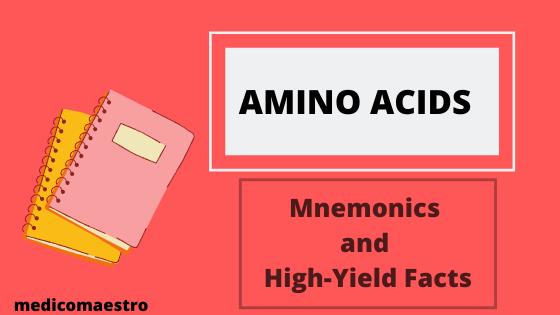 amino acid mnemonics