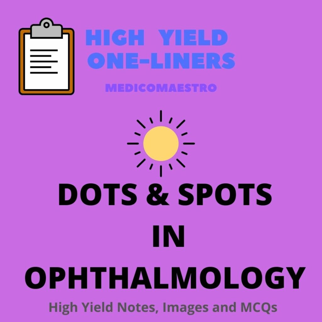 DOTS and SPOTS in Ophthalmology