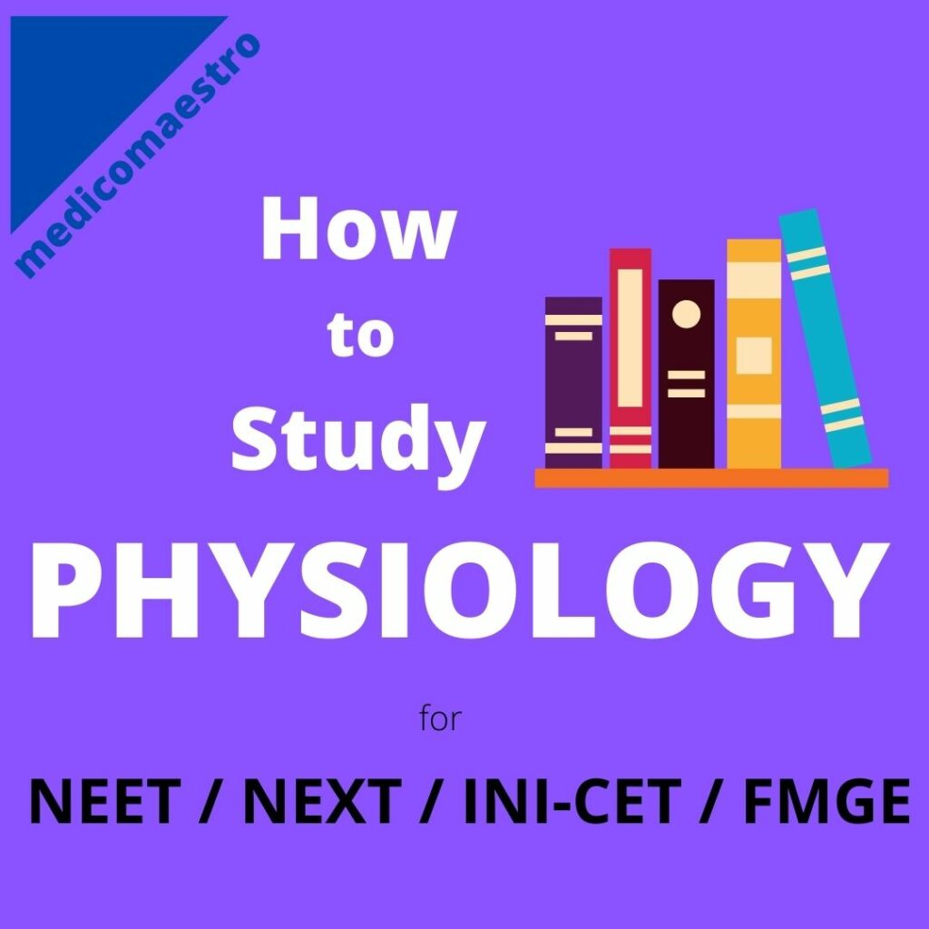how to study physiology